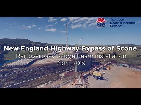 New England Highway bypass of Scone - New England Highway