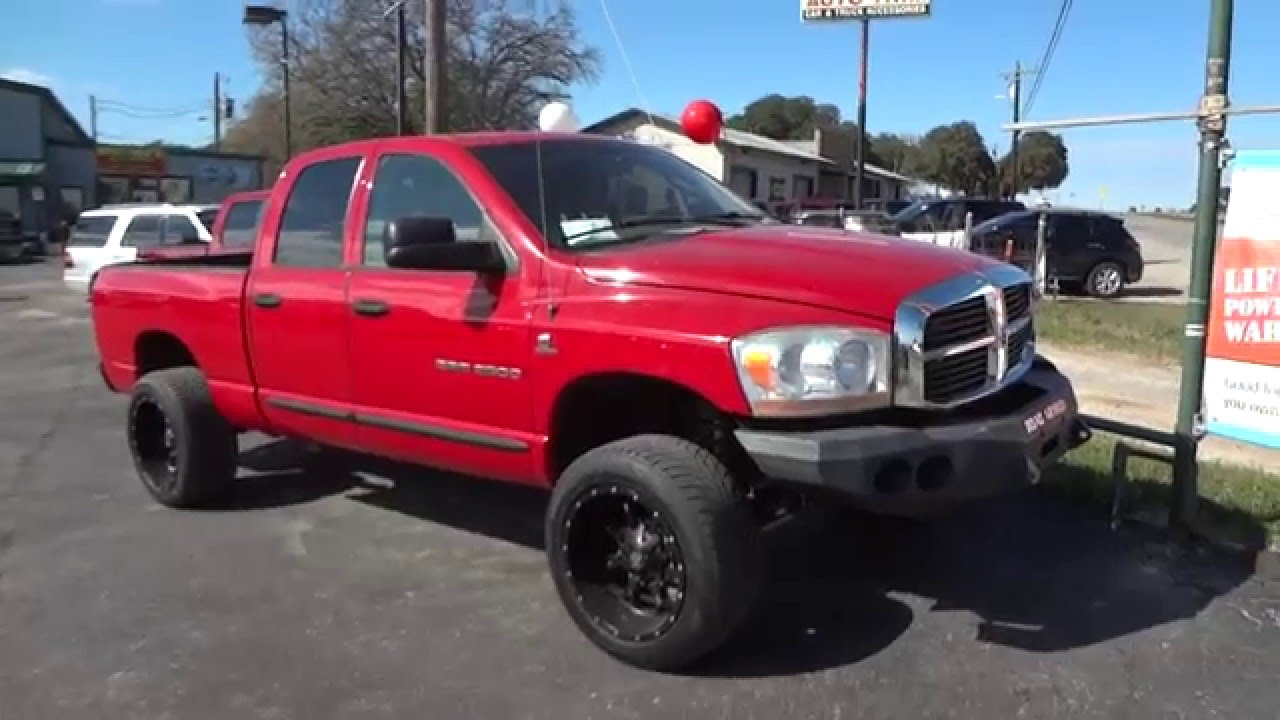 2006 dodge ram 2500 slt cummins review youtube. Black Bedroom Furniture Sets. Home Design Ideas