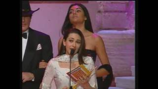 karisma kapoor win award for best actress-iffa 2001(HD)