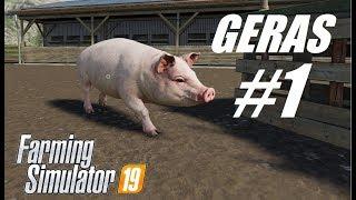 Farming Simulator 2019 #1 // Свиньи // Разбираемся, как выращивать свиней