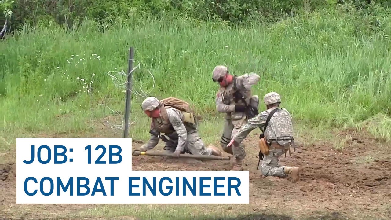 Learn About MOS 12B: Combat Engineer in the National Guard