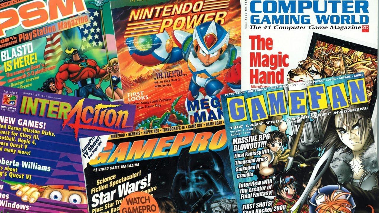 Retro Game Magazines