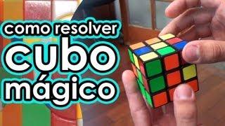 Como RESOLVER o cubo mágico com Renan Cerpe