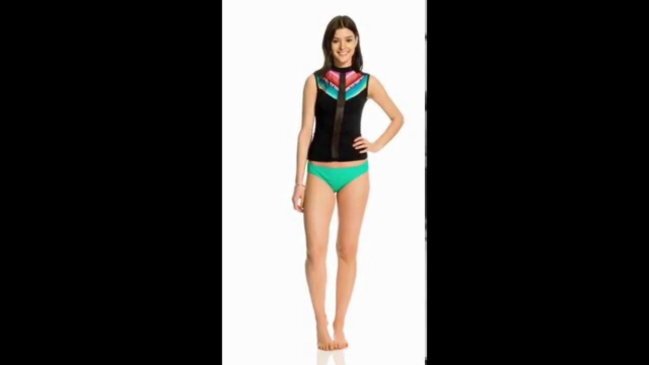 1fa9a867f4 Rip Curl Swimwear Lolita Tank Rashguard