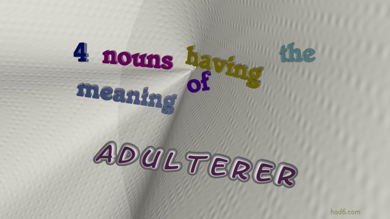 Adulterers Deutsch