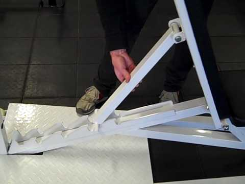 Adjustable Bench From Iron Edge Youtube