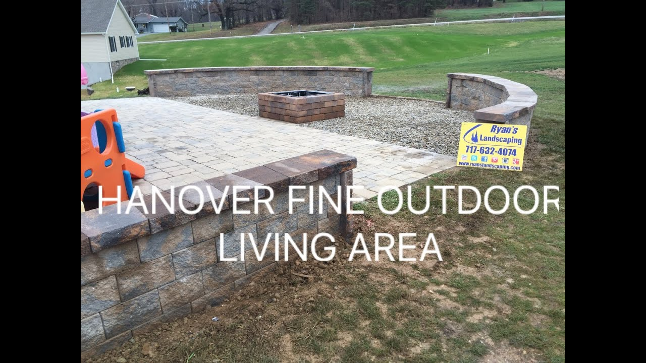 Small Hanover outdoor living space ideas for patio's, seating walls, & fire  pits Ryan's Landscaping - Small Hanover Outdoor Living Space Ideas For Patio's, Seating Walls