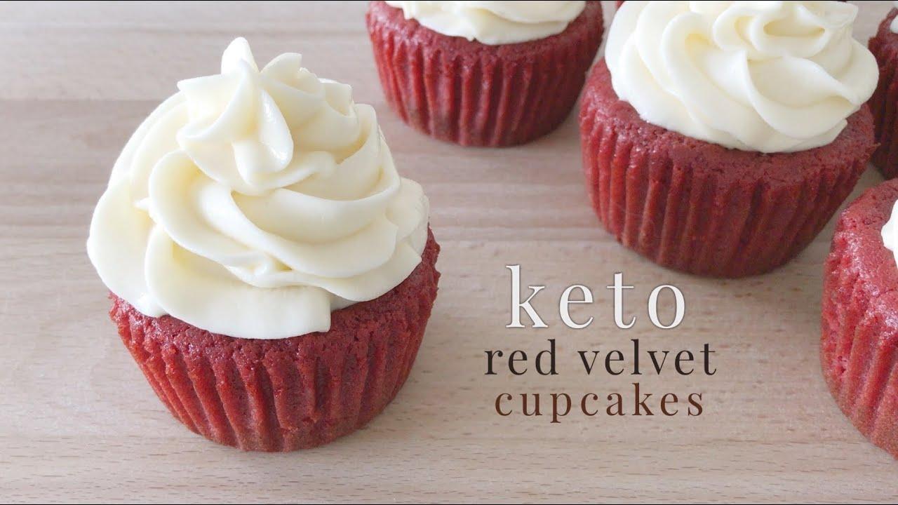 Ricetta Muffin Red Velvet.Keto Red Velvet Cupcakes Youtube