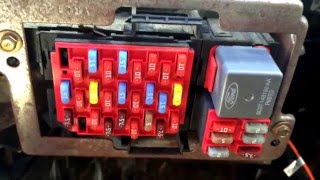 where engine parts located under hood crown vic police interceptor 2008 ford crown victoria fuse box location