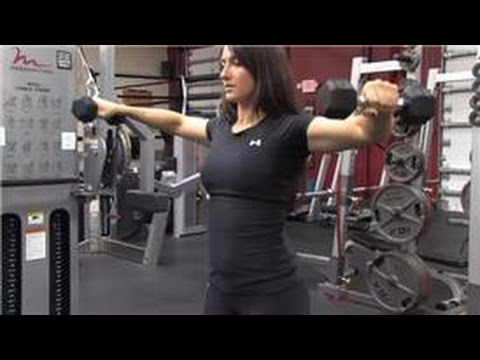 Weight Training : How to Build Round Shoulders