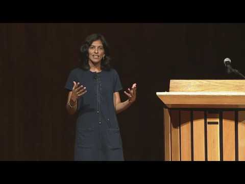 2016 keynote speaker, Dr. Radhika Nagpal, Harvard University