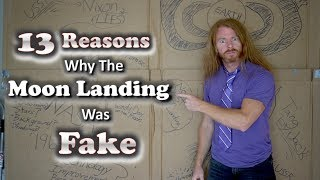 13 Reasons Why the Moon Landing was FAKE - Ultra Spiritual life episode 125