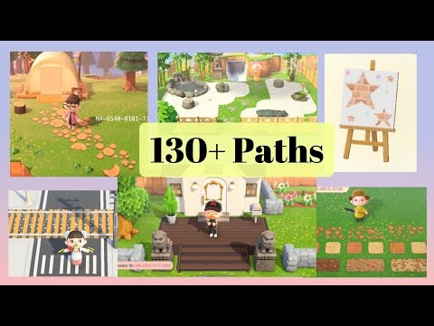 130 Latest Ground Path Designs Codes For Animal Crossing New Horizons Acnh Patterns Youtube