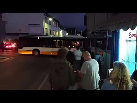 Ober-ramstadt Nacht Der Farben O Bus In Einer Sackgasse
