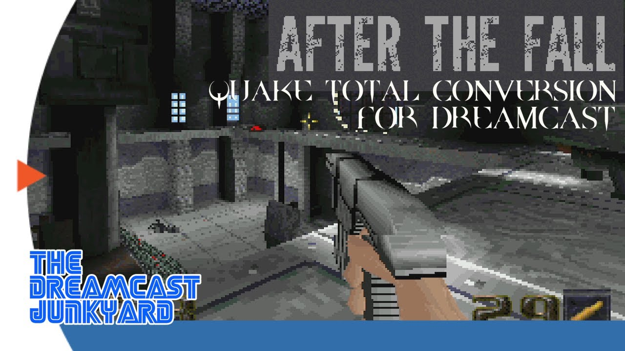 After the Fall - Quake Total Conversion for Dreamcast (final build footage!)