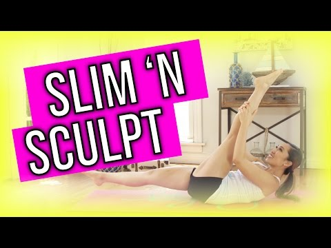 Slim 'n Sculpt! Beginner's POP Pilates
