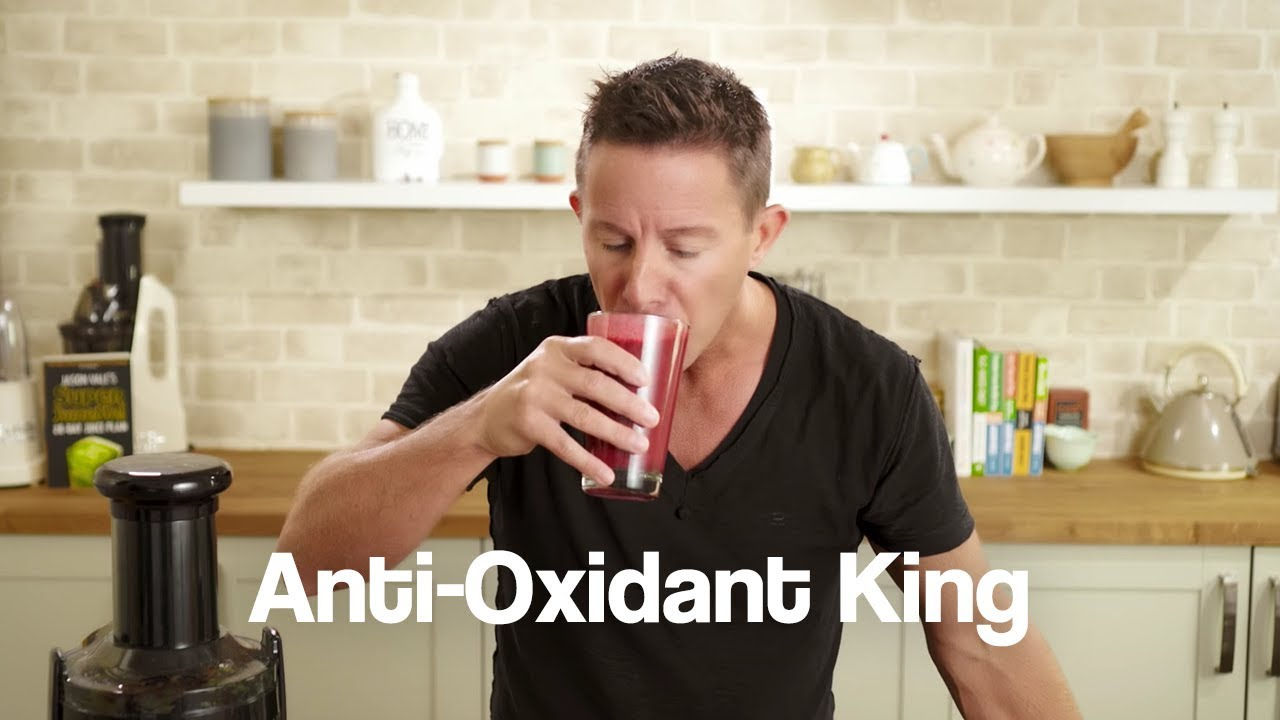 Anti Oxidant King Jason Vale Smoothie Recipe