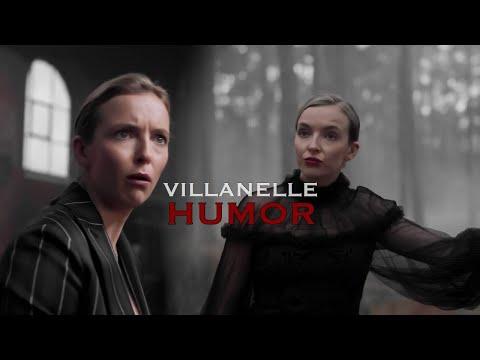 Вилланель - ЮМОР (rus) [Убивая Еву] / Villanelle - HUMOR