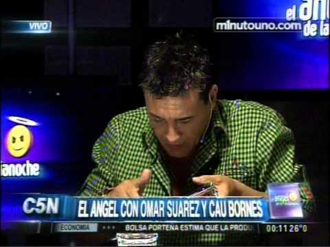 C5N -  EL ANGEL DE LA MEDIANOCHE: ENTREVISTA A CAU BORNES Y OMAR SUAREZ
