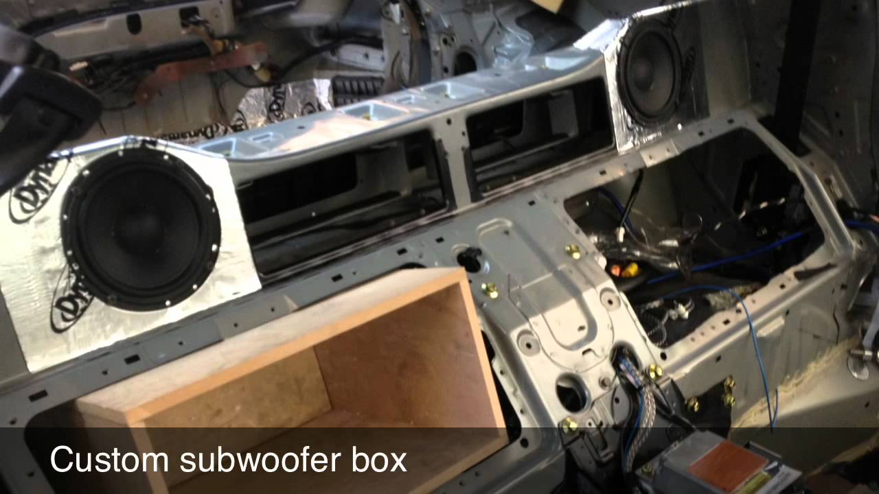 Audio Upgrade Nissan 350z Youtube