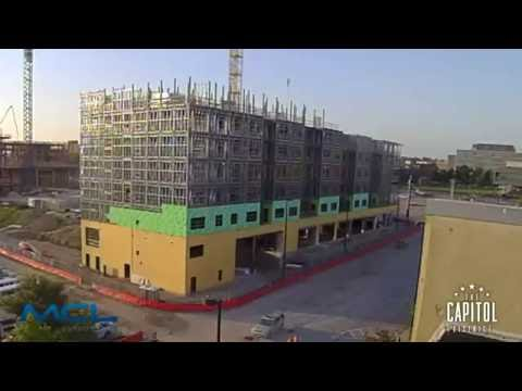 Capitol District Omaha Apartments Time Lapse