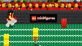 Лего Минифигурки игра - Бег с препятствиями (Lego Minifigures Bricks Yards )