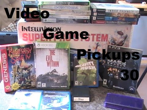 Video Game Pickups 30 : Some Cool and Rare Stuff - YouTube