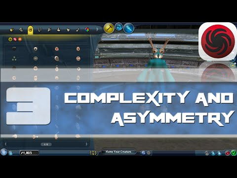 SPORE TUTORIAL SERIES #3: Complexity and Asymmetry(collab with Salooverall)