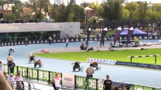 200M Wheelchair Rheed McCracken T34 29.77 Australian Athletics Championships 2014
