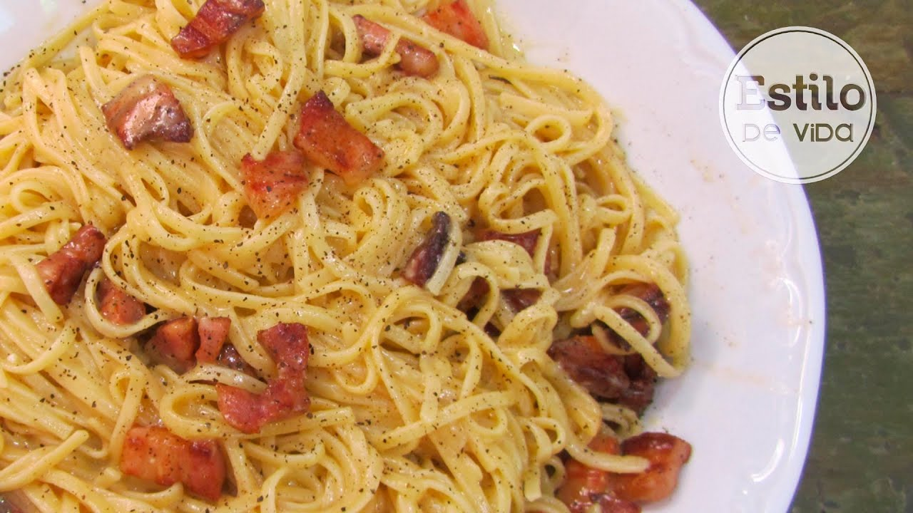 Image Result For Receta Pasta La Carbonara