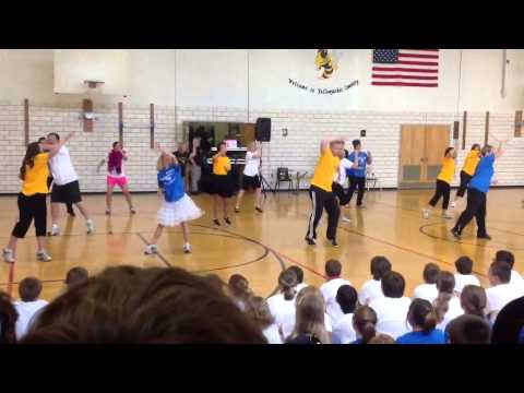 Evolution of dance -- THREE RIVERS MIDDLE SCHOOL