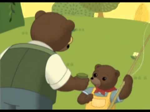 Petit ours brun va la p che youtube - Petit ours va a l ecole ...