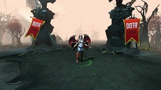 Sanguine Royalty Queen of Pain custom animation preview Dota 2
