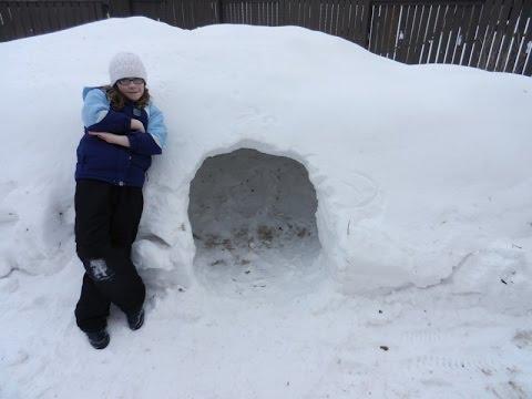 Building A Snow Cave