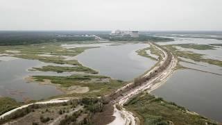 Река Припять зона отчуждения ЧАЭС Чернобыльский радиационно экологический биосферный заповедник