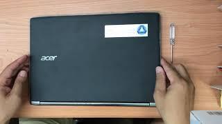 Acer Aspire S13 upgrading SSD 固態硬碟更換 unassembled 拆機