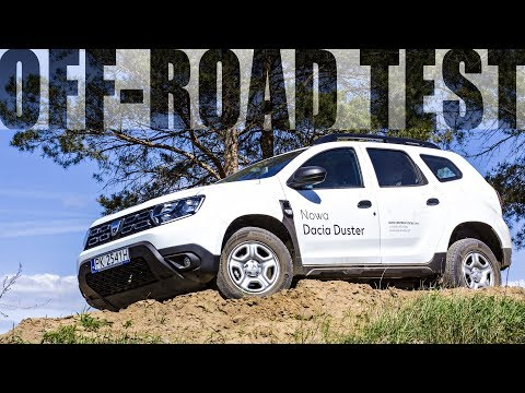 Dacia Duster 2018 Test OFF Road PL 1.5DCi 110 KM
