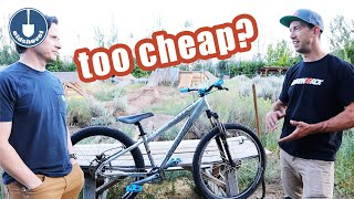 Dirt Cheap Dirt Jumper - Specialized HardRock Rebuild