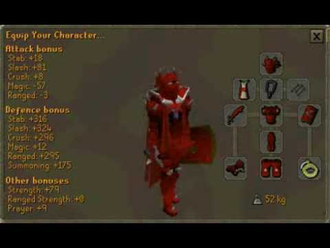 Runescape New Full Dragon Plate Armour Update Youtube