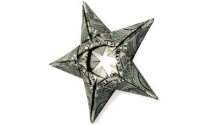 5 Dollar Star - How To Make This Dollar Origami Star