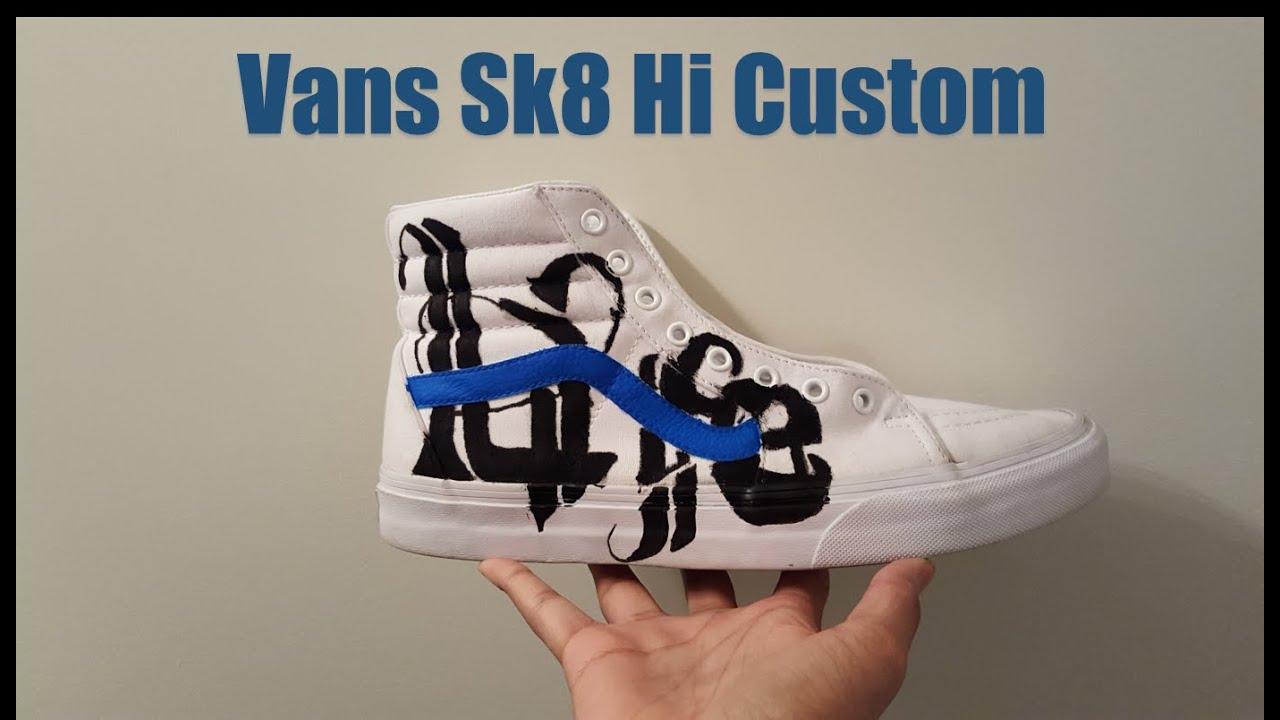Vans Sk8 Hi Custom AngelusDirect