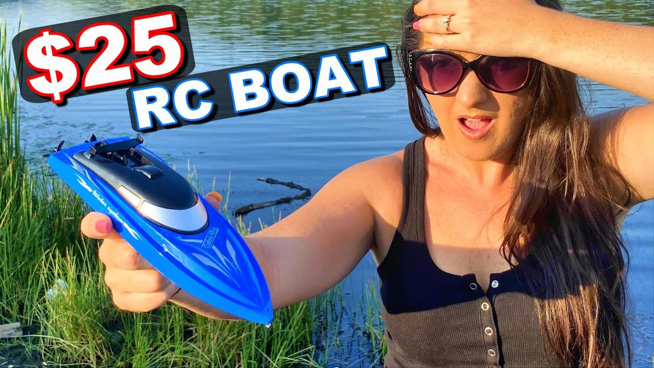 CHEAPEST RC BOAT in the WORLD! - B801 Completely Ready to Run - TheRcSaylors