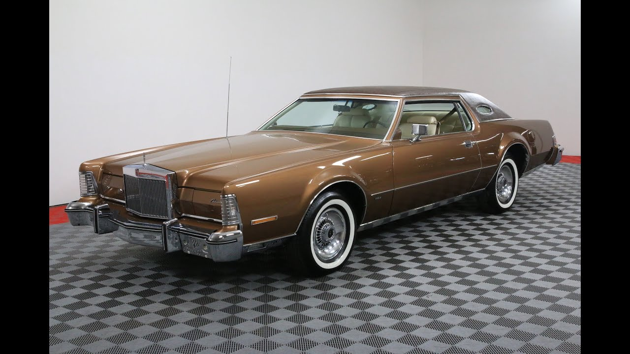 1975 LINCOLN CONTINENTAL MARK IV - YouTube