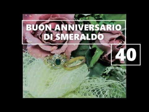 """Buon Anniversario NOZZE DI SMERALDO 10 ANNI di Matrimonio buongiorno auguri  sposi"""""""