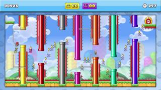 Mario Vs Donkey Kong: Tipping Stars: Flappy Mario Community Level EPIC FAIL :)