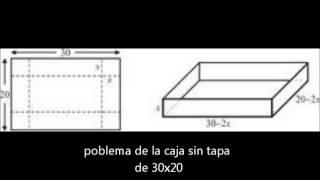 problema de la caja sin tapa