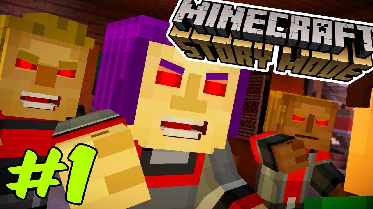 İÇİNE ŞEYTAN KAÇMIŞ HALK!! | Minecraft Story Mode Episode 7 #1