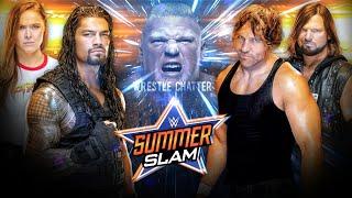 WWE Summerslam 2018 Highlights Results Predictions ! Winner Roman Reigns Vs Brock Lesnar Summerslam