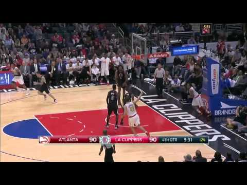 Atlanta Hawks vs Los Angeles Clippers | March 5, 2016 | NBA 2015-16 Season