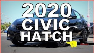 2020 Honda Civic Hatchback Sport - Ultimate In-Depth Look in 4K